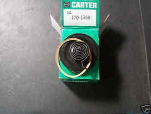 1971-74 OLDS, PONT, V8  NOS Choke Thermostat
