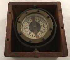 Antique Eugene H. Sherman Dry Card Ship Compass Maritime Seattle Washington