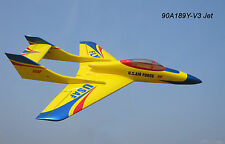 Super Falcon 120 Jet Yellow-blue (XY-189Y)