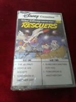 Vintage Disney Cassettes The Rescuers Soundtrack Cassette 1987 factory sealed
