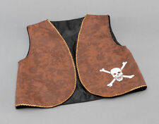 Unbranded Unisex Fancy Dress Waistcoat Pirate