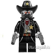 M305G12 The Lego Movie Sheriff Not-a-robot  Minifigure & Guns 70800 NEW