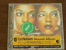 LES NUBIANS One step forward CD + DVD NEUF