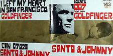 "OST 007 MISSIONE GOLDFINGER  ( CONNERY ) 7""  SANTO & JOHNNY  G.C.  ITALY 1965"