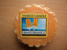 Yankee Candle USA RARE ORANGE DREAMSICLE Wax tart