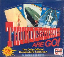 THUNDERBIRDS ARE GO 1992 PRO SET UK FACTORY SEALED TRADING CARD BOX OF 66 PACKS