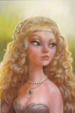RARE Princess the beauty & the Beast by Chemiychuk Russian modern postcard