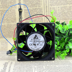 1pc DELTA QFR0924UHE 9238 9038 24V 1.2A Double Ball Inverter Power Fan