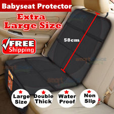 Car Baby Seat Protector Mat Cover For Baby Seat PU Leather Car Cover Seat Cover