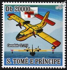 Canadair CL-215 Pelle pompiers Flying Boat Seaplane AVION TIMBRE