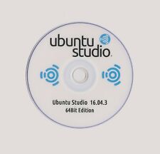 UBUNTU STUDIO 16.04.3  LIVE 32&64Bit Discount & Multi Distro Discs Available 99p