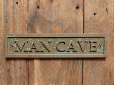 """MAN CAVE"" Funny Wall or Door Plaque for your Garage, Shed, Workshop or Bar"
