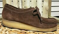 Clarks Originals Womens 9M Wallabee Gum Wedge Sole Moccasin Oxfords 78984 EUC