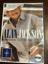 ALAN JACKSON Greatest Hits Volume II Good Condition DVD R All NTSC