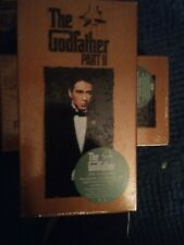 The Godfather Part Ii (Vhs, 1997, 2-Tape Set, Closed Captioned) Like New
