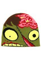 Zombie Costume Knit Beanie Cap Hat By Elope