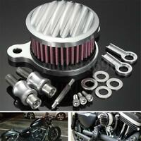 Motorcycle Air Cleaner Intake Filter System Kit FOR Harley Sportster XL883 1200