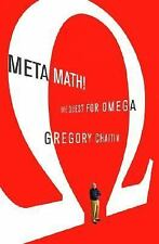 Meta Math!: The Quest for Omega (Peter N. Nevraumont Books)-ExLibrary