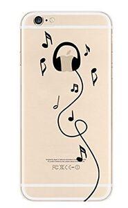 """Coque Gel Souple solide  fantaisie pour Apple iPhone 7 (4,7"""") ( Casque )"""