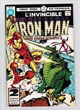 FRENCH COMIC FRANÇAIS EDITION HERITAGE  IRON MAN  #  113 / 114