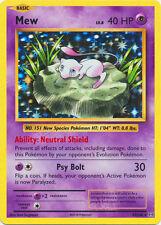 x1 Mew - 53/108 - Holo Rare Pokemon XY Evolutions M/NM