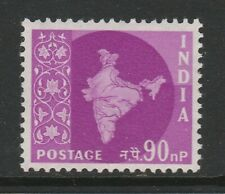 India 1957 90np Definitive SG 385a Mnh/ Unmounted mint.