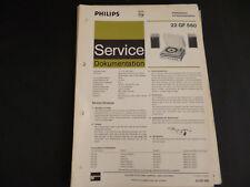 Original Service Manual Philips  22 GF 560