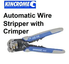 KINCROME Wire Cutter Stripper With Crimper Automatic K4001 NEW