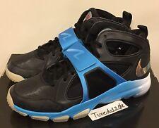 DS PlayStation X Nike Zoom Huarache TR Mid sz12 Black/Vivid Blue PG 2 220524A