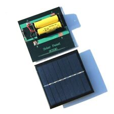 solar panel power station rechargeable battery cell charger camping power bank