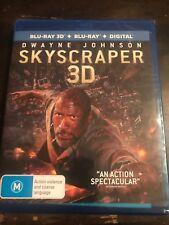 Skyscraper (3D + 2D Blu-ray + Digital Copy) Region B ***BRAND NEW & SEALED***