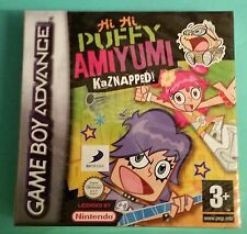 HI HI PUFFY AMI YUMI KAZNAPPED CARTOON NETWORK GBA/DS GAME brand new & sealed UK