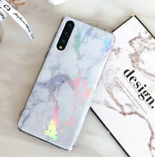 For Huawei P20 Lite Pro Nova 3E Shockproof Shiny Marble Soft Protect Case Cover