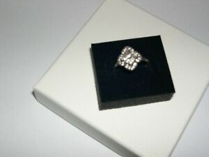 SILVER Pandora ring 56 used In Box.