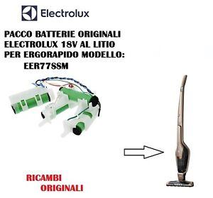 PACCO BATTERIE  ORIGINALI ASPIRAPOLVERE ERGORAPIDO ELECTROLUX EER77SSM 18V