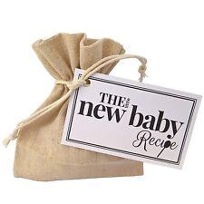 The Little New Baby Recipe- Unique Gift Present fun celebrate arrival girl boy