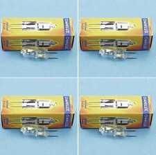 4 x 12v 50 Watt JC g-6, 35 gx-6, 35 gx6, 35 studio alogena Socket Penna Lampada OMNILUX