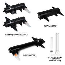 11-55W UVC Wasserklärer für Aquarien und Teiche UV-C Cleaner Klärer Teichklärer