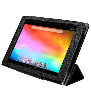 "New Gigaset QV830 Folding Smart Kickstand Folio Case for 8"" Tablet - Black"