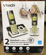 New Vtech Cs6829-2 Phone Vtech Cordless Answering System Free Shipping!