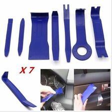 7x Car Truck Radio Door Clip Panel Trim Dash Audio Removal Pry Tool Kit KY