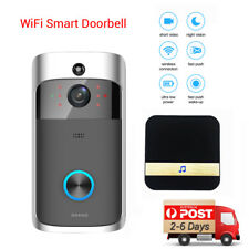 Smart Wireless WiFi Intercom Home HD Video DoorBell Camera Remote Phone+Dingdong