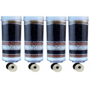 Aimex Water Filters 8 Stage Charcoal Activated KDF Mineral balls Ceramic 4 Pcs