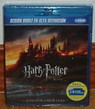 HARRY POTTER THE RELICS OF THE DEATH 1 Y 2 PART NEW SEALED 2 BLU-RAY