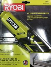Ryobi 4-Volt Lithium Ion Cordless Drill Electric New Rechargeable Screwdriver