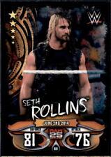 Topps Slam Attax Live-mapa 69-Seth Rollins-Raw 25 Years
