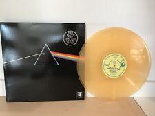 PINK FLOYD - DARK SIDE OF THE MOON - LIKE NEW ORANGE COLORED VINYL LP