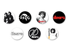 Lot Pack Badge Button Ø38mm The Doors Rock US Jim Morrison Groupe Band