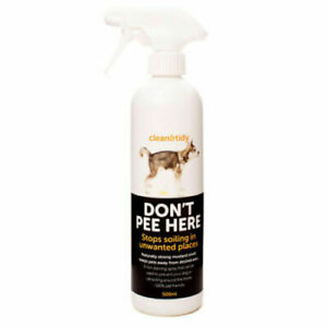 Clean & Tidy 500ml Don't Pee Here Deterrent Spray For Pets (66527)