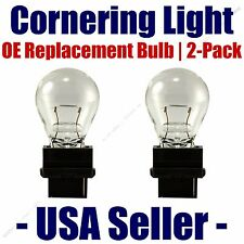 Cornering Light Bulb OE Replacement 2pk - Fits Listed Nissan Vehicles -  3156